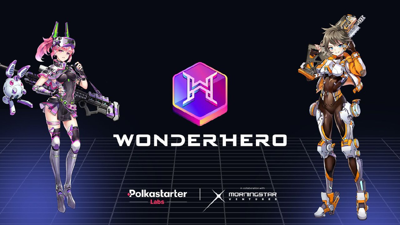 Polkastarter Launches Incubator Spin-Off Polkastarter Labs with WonderHero as First Entry
