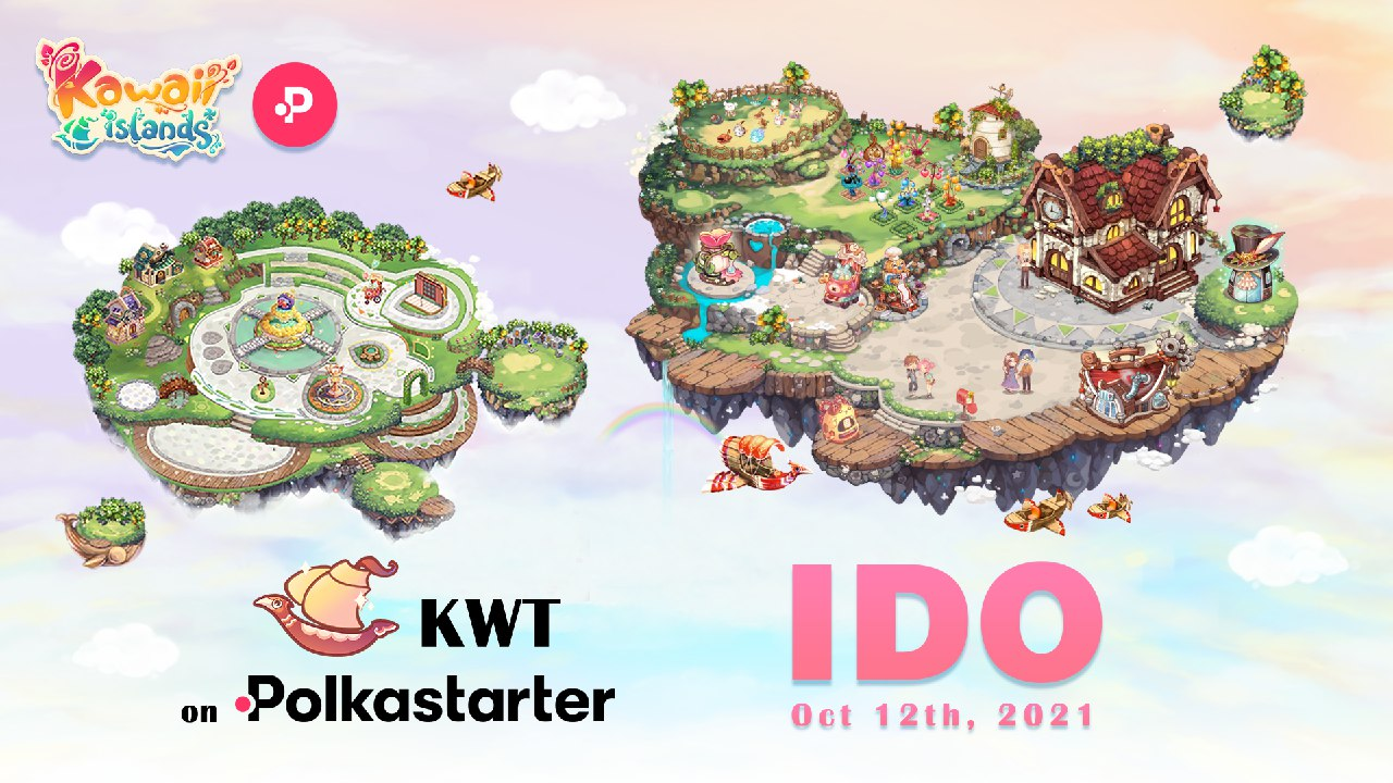 DeFi focused Anime Metaverse, Kawaii Islands, to Launch IDO via Polkastarter, Starting Oct 12, 2021