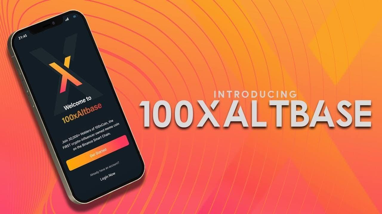 100xCoin introduces 100xAltbase - the app to buy altcoins seamlessly