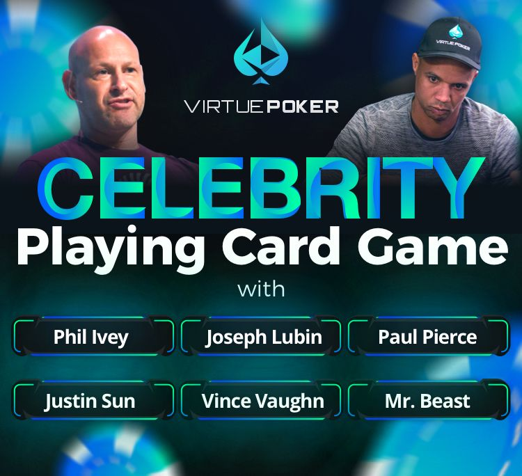 """Virtue Poker and Binance NFT to Introduce """"Mystery Box"""" for Celebrity Tournament"""