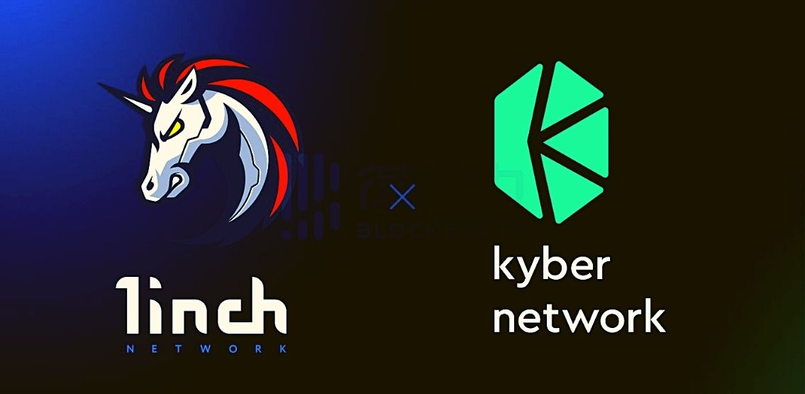 1inch Network Integrates The Kyber DMM Protocol As A Key Liquidity source.