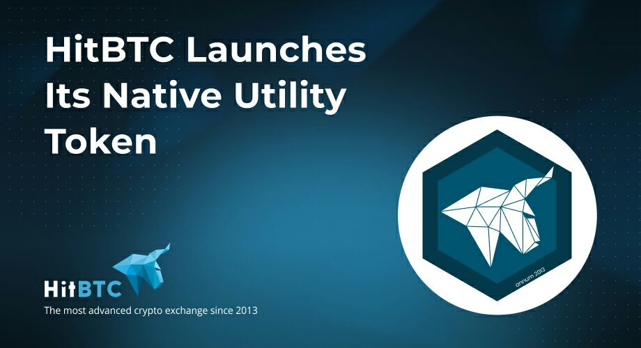 HitBTC Launches Its Native Utility Token - HIT