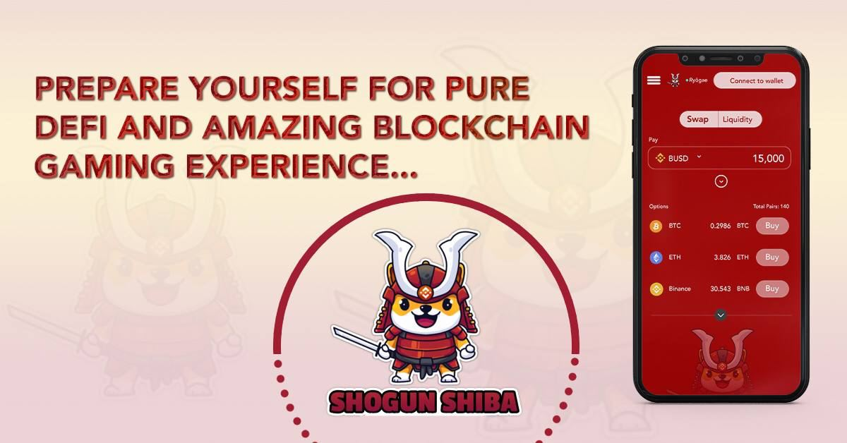ShogunShiba partners with NULS for SCO and cross chain bridges, offers zero slippage decentralized exchange