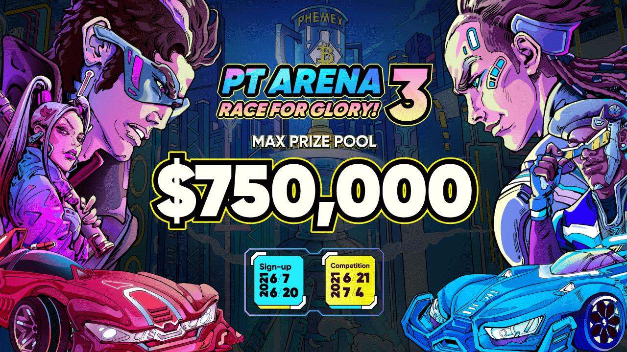 Race for Glory on Phemex Trader's Arena III