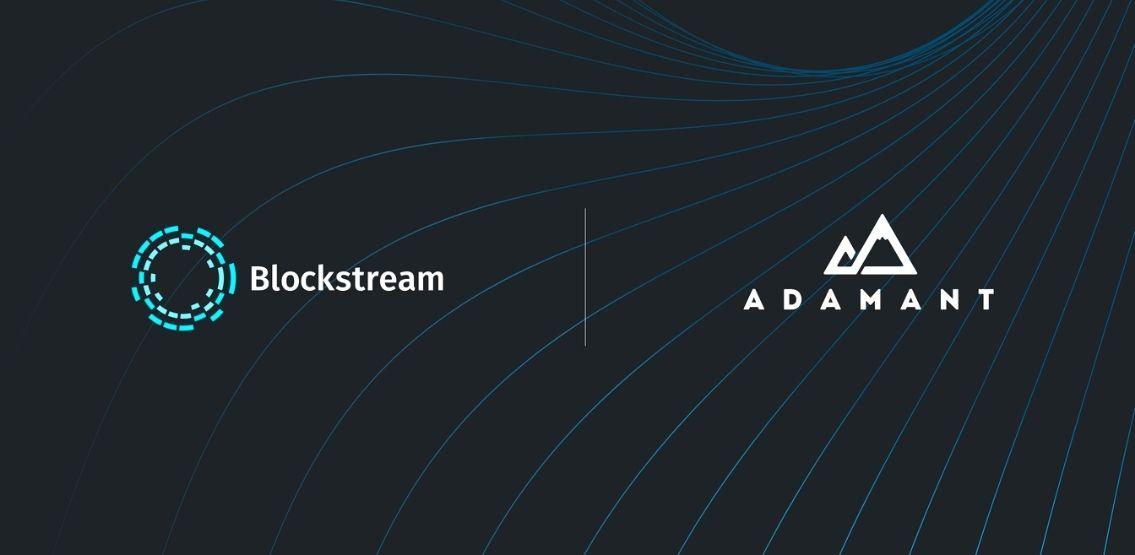 Blockstream announces the acquisition of Adamant Capital