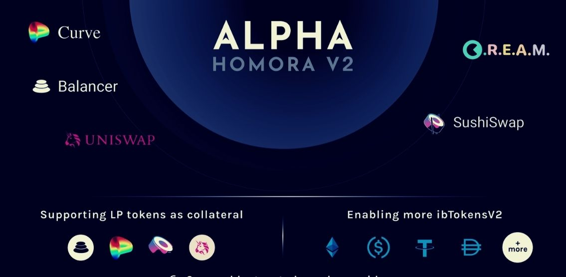 Alpha Homora V2 Relaunch Shows Several Innovative Features For Users