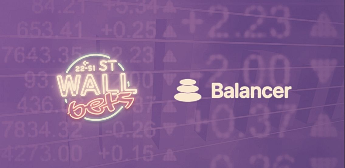WallStreetBets Partners With Balancer Protocol To Launch New ETP