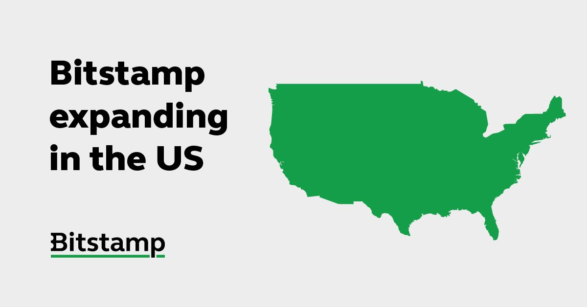 Bitstamp announces U.S. expansion amid 570% growth