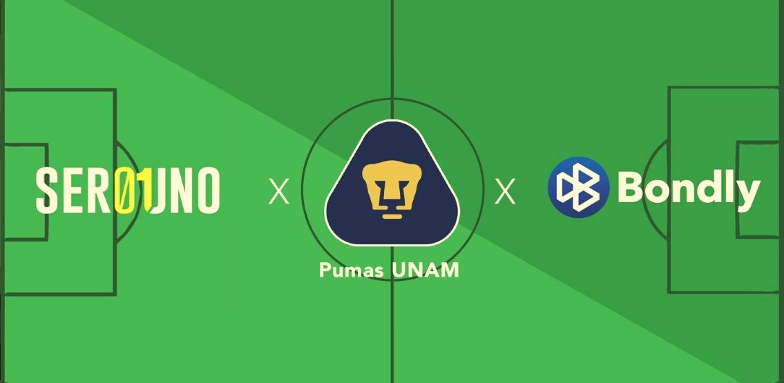 Liga MX Football Team – Pumas UNAM – Launches NFT Collection With Bondly and Serouno