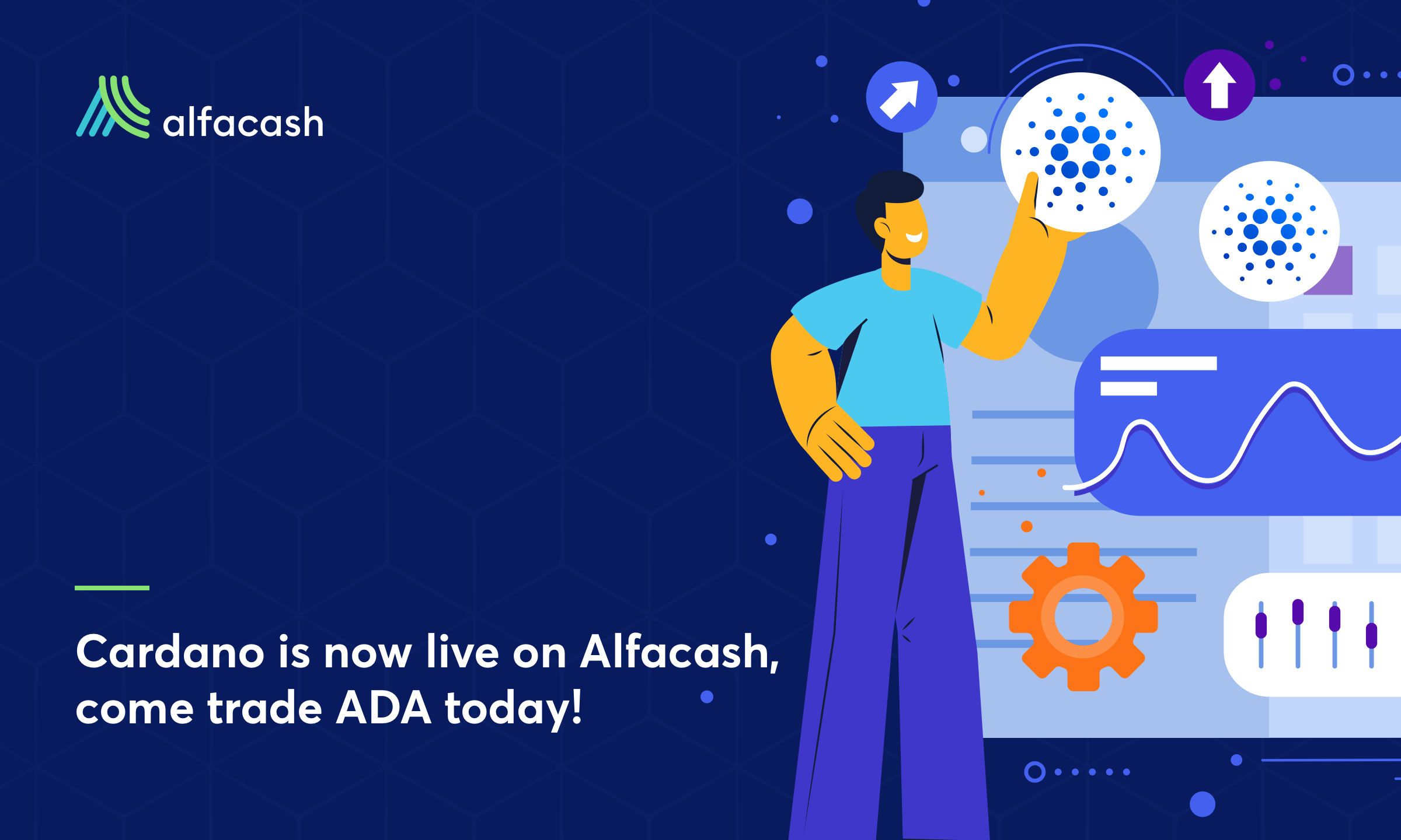 Cardano (ADA) Is Now Available for Trading on Alfacash!