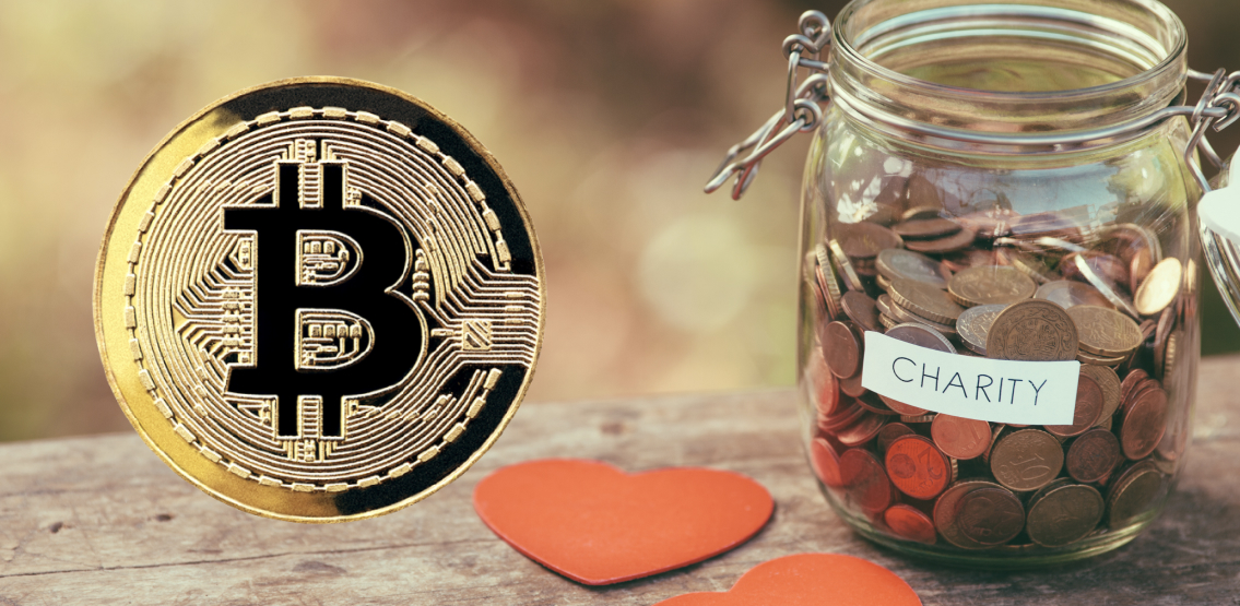 Charity could begin with Bitcoin