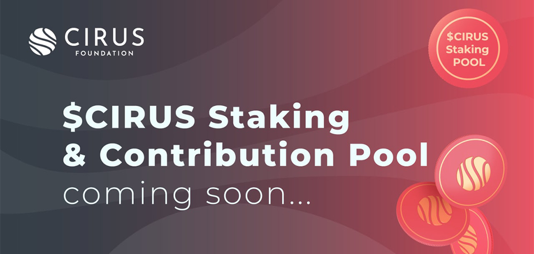 Cirus Staking & Contribution Contract