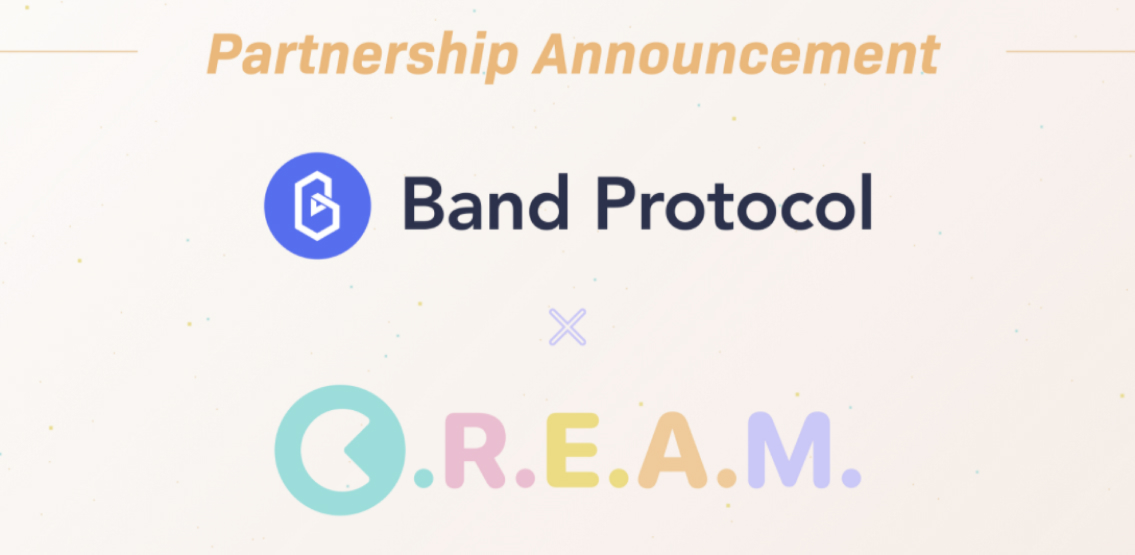 C.R.E.A.M partners with Band Protocol to upgrade lending and borrowing markets