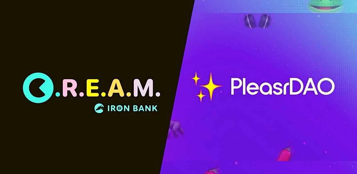 C.R.E.A.M. Finance And PleasrDAO Collaborate To Offer First DAO-To-DAO Loan With NFTs As Collateral
