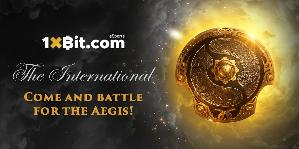 The International: 1xBit launches dedicated Esports Tournament
