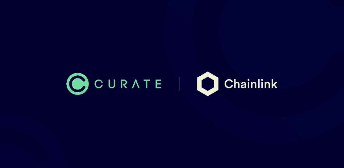 Curate Marketplace Integrates Chainlink Price Feed To Price NFT Assets And Services