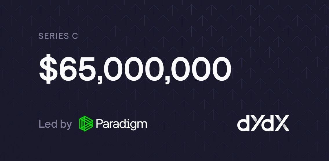 dYdX Raises $65 Million Through Series C Funding Round