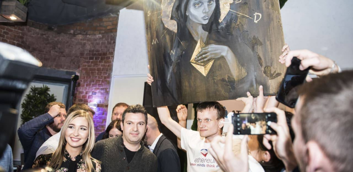 """NFT Artwork """"CryptoMother"""" Signed By Vitalik Buterin To Be Auctioned In Time For Ethereum's London Hard Fork"""