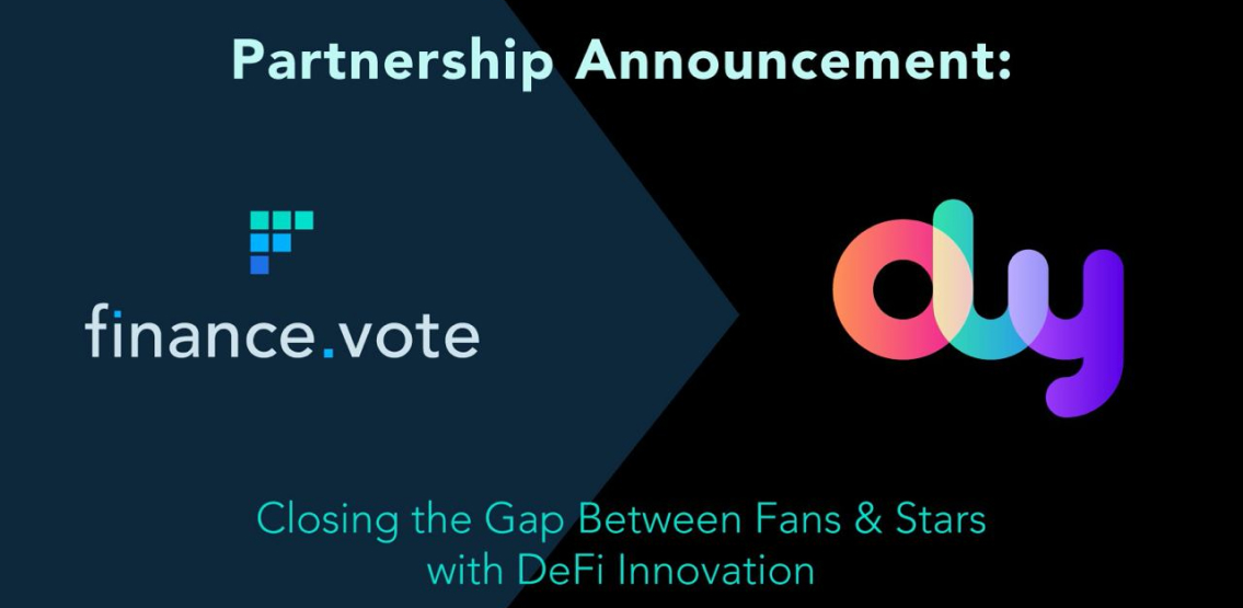 DeFi, NFTs and Fan Democracy; finance.vote announces new partnership with Olyseum
