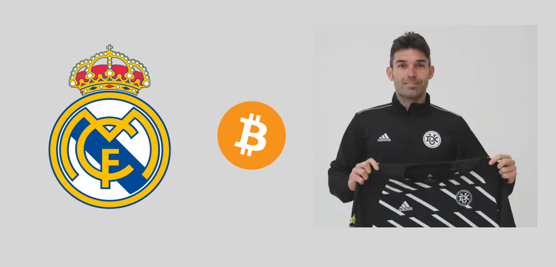 Former Real Madrid Striker Becomes First Player To Be Bought By Bitcoin
