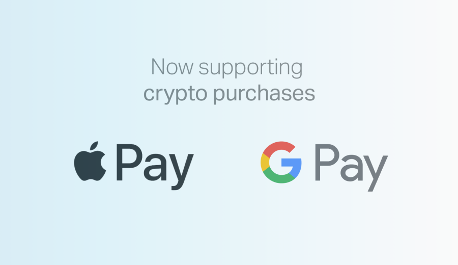 Gemini opens crypto purchases to Google Pay and Apple Pay