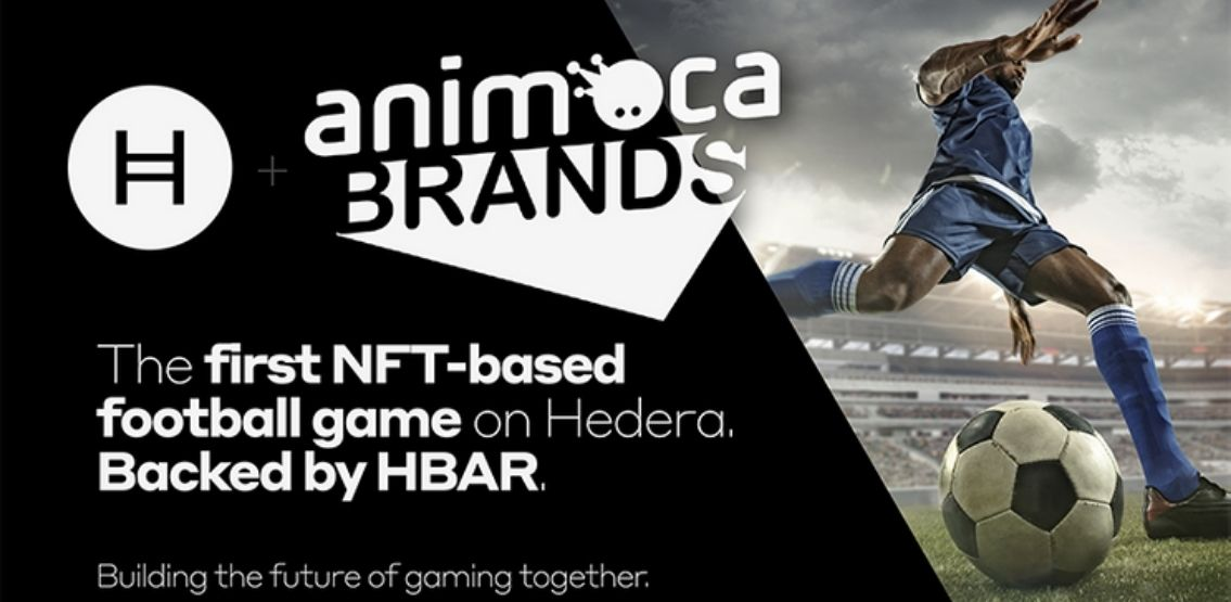 Hedera and Animoca Brands Develop Helix Warp And NFT-Based Football Game