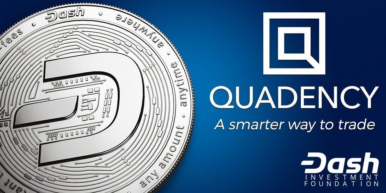 Dash Investment Foundation Invests $100,000 in Quadency Trading Platform
