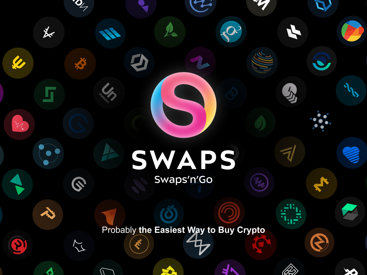 Swaps.app Offering KYC-Free Crypto Purchases Up to €1000