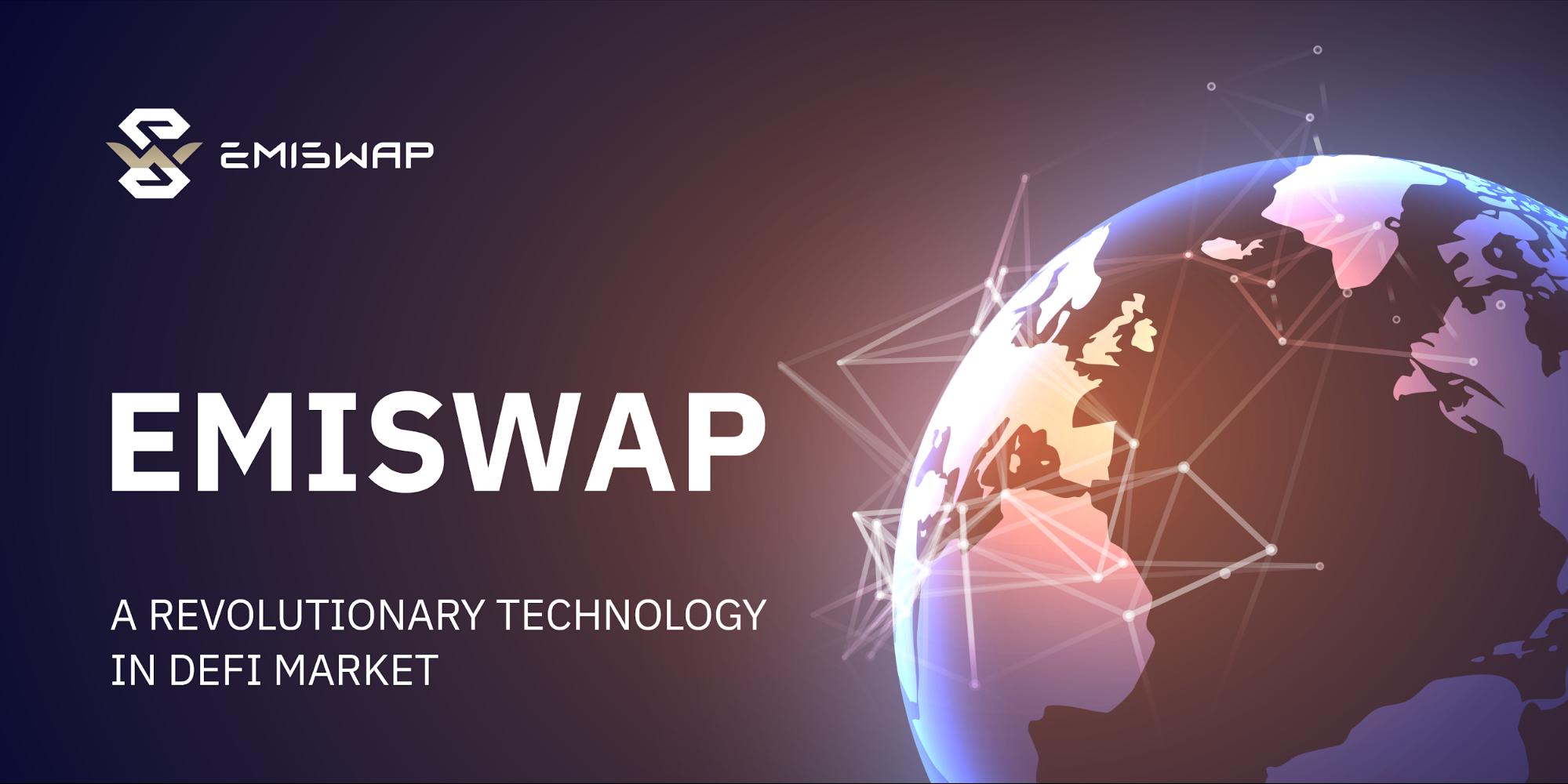 EmiSwap Launches Revolutionary DEX Supplemented by Unique NFT Mechanics