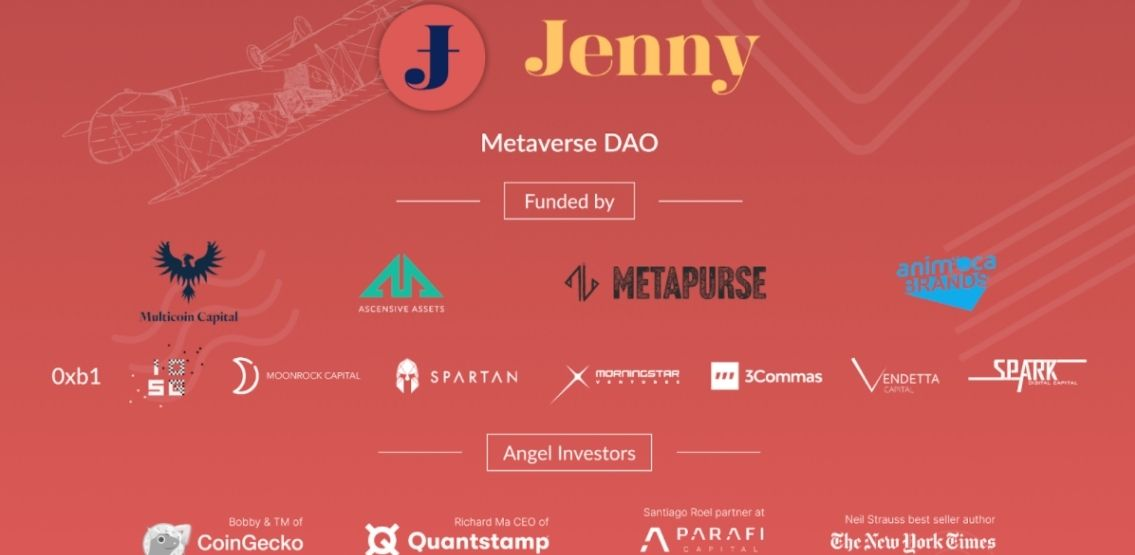 Jenny Metaverse DAO Raises $7 Million For Unicly Launch