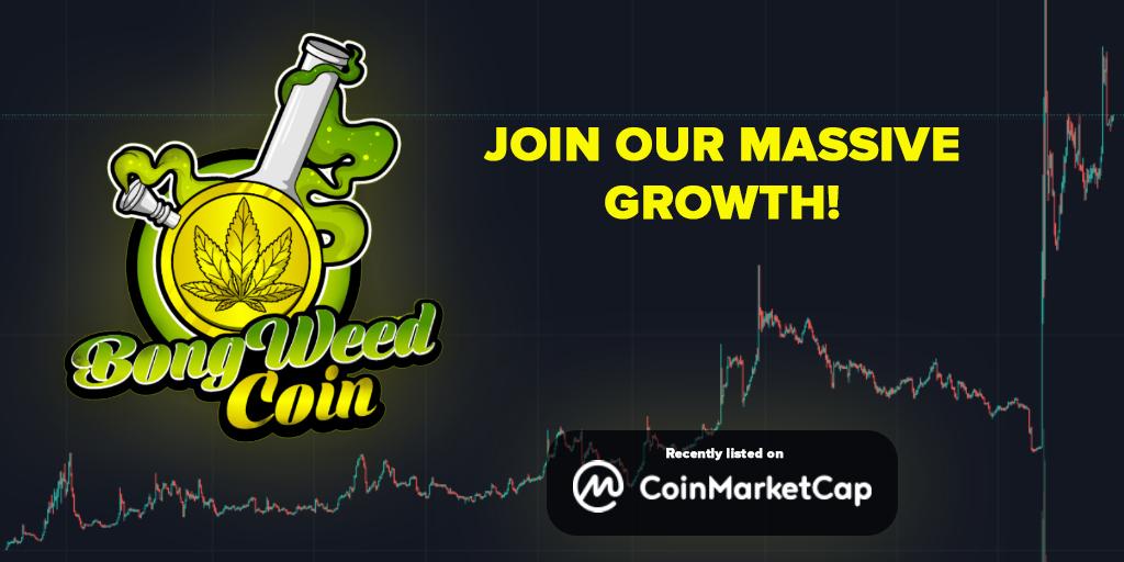BONGWEEDCOIN - Rapidly growing DeFi Token - World Cannabis Legalization Movement