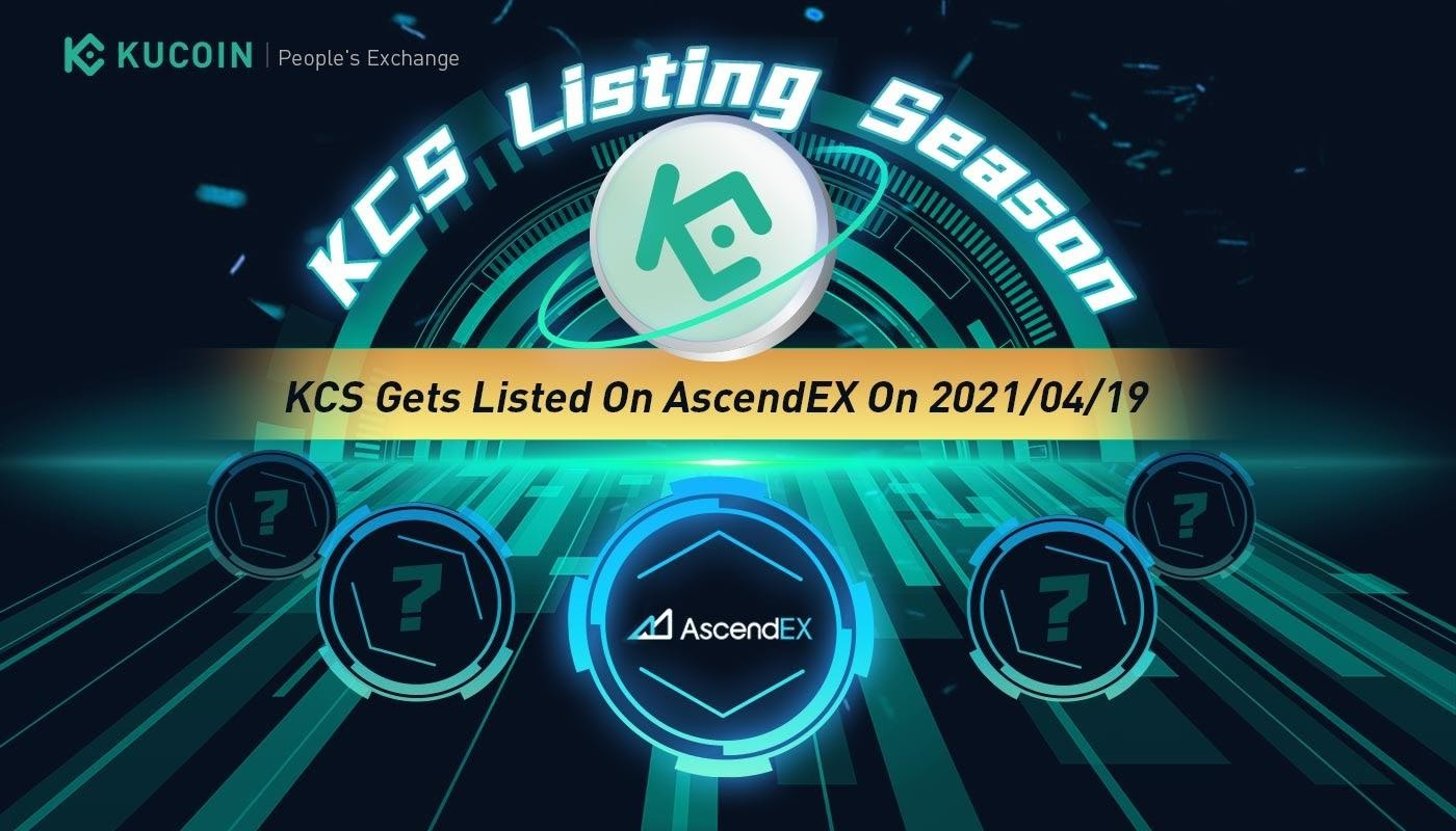 KuCoin gets listed on AscendEX, offers enhanced liquidity