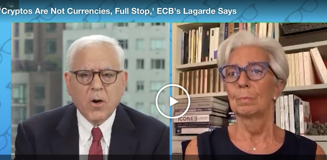 Lagarde continues authoritarian approach to cryptocurrencies