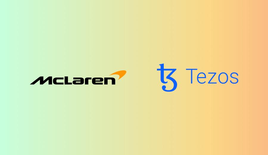 McLaren Racing Partners With Tezos To Build Energy-efficient NFT Platform