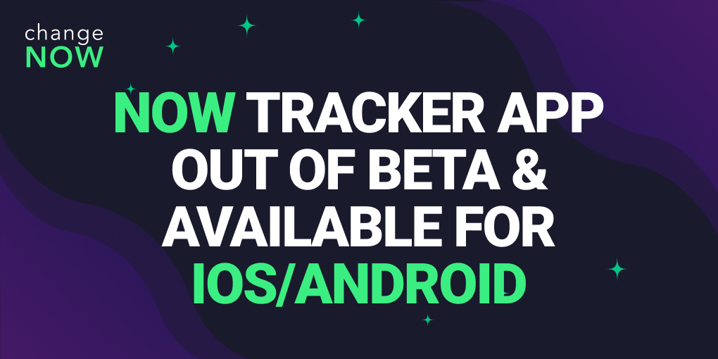 ChangeNOW Fully Releases NOW Tracker Mobile App