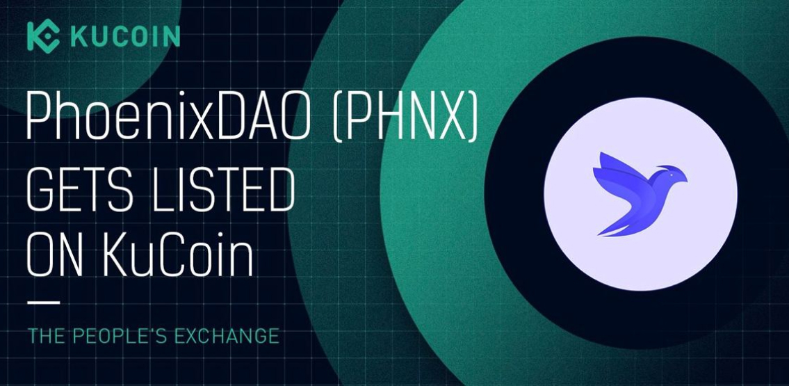 PhoenixDAO Choose Kucoin To Help Fuel Next Level Growth