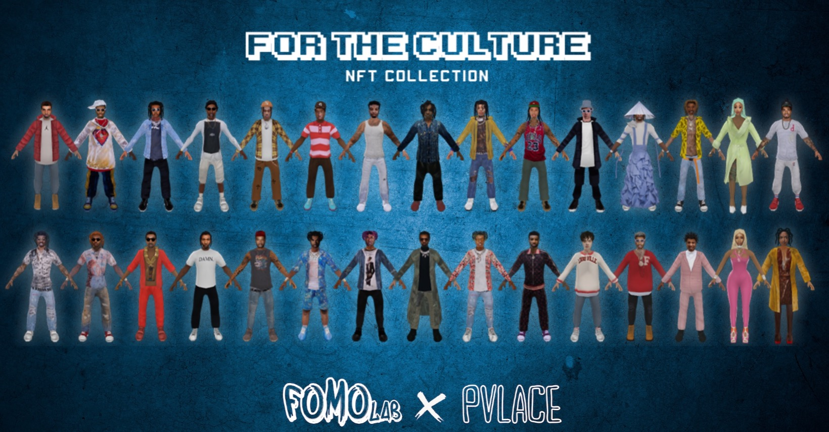 """Fomo Lab Partners with PVLACE of 808 MAFIA and Gunboi to drop their """"For the Culture"""" Collection, on The Avenue"""