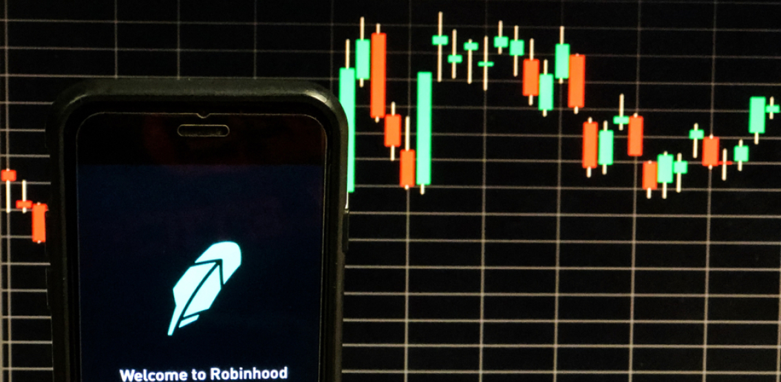 Stock trading app Robinhood makes its debut on the Nasdaq under the symbol HOOD, priced at $38 dollars a share