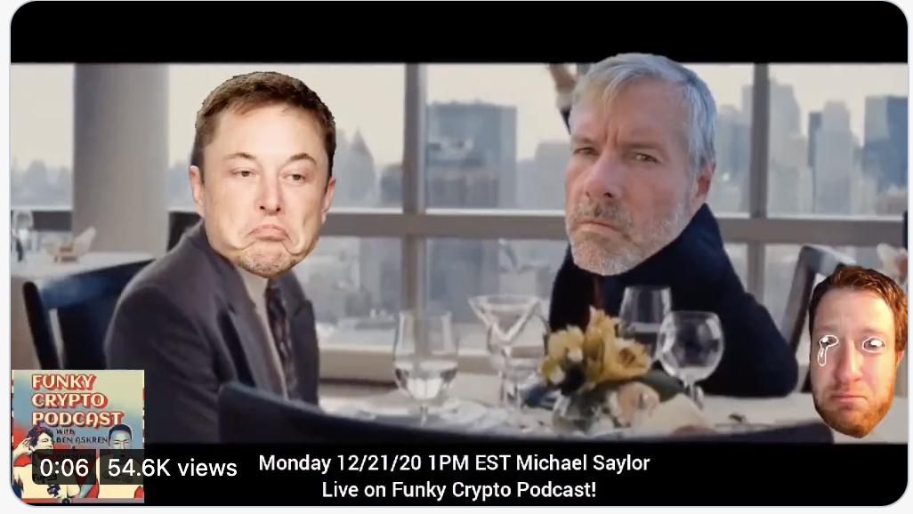 Did Michael Saylor influence Elon Musk to buy Bitcoin?