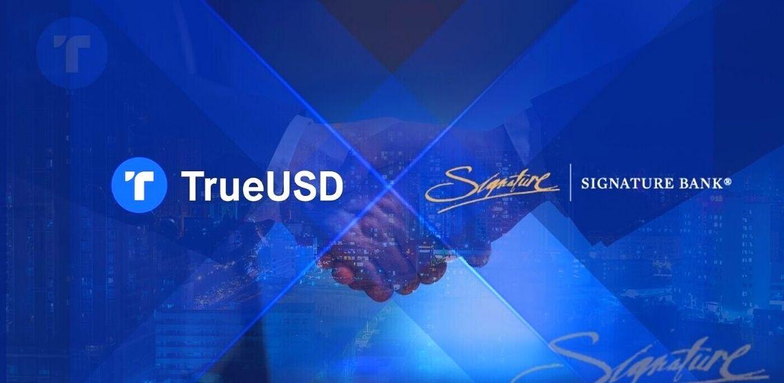 TrueUSD Partners With Signature Bank, Integrates Signet Platform