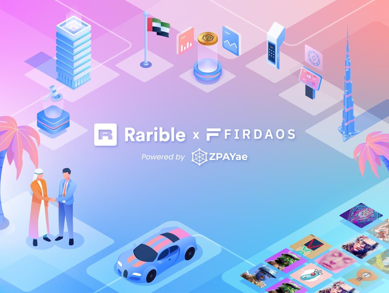 Firdaos Announces Their Native Token $FDO is Accepted on one of the Largest NFT Marketplaces, Rarible