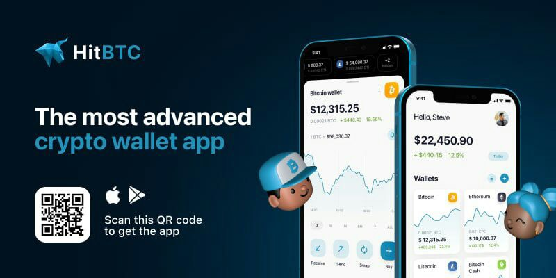HitBTC launches native HitBTC wallet app to ease access to crypto
