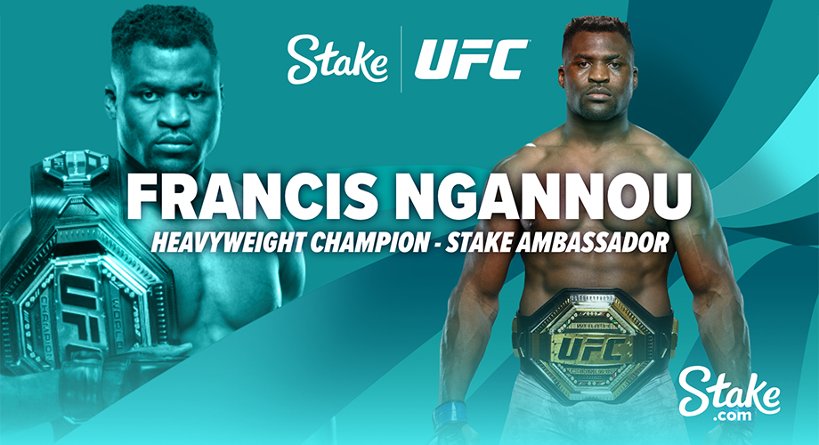 UFC Champion Francis Ngannou joins forces with Stake.com!