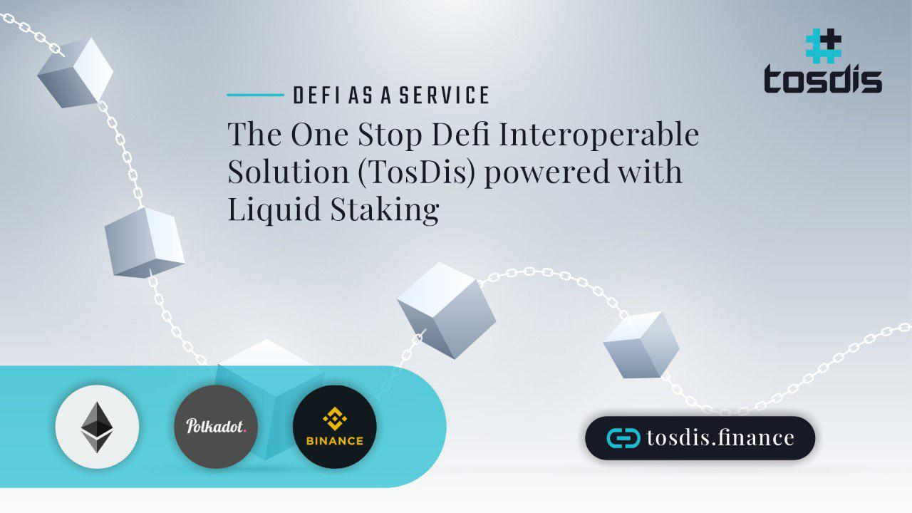 TosDis to have Initial Dex Offering on Polkastarter