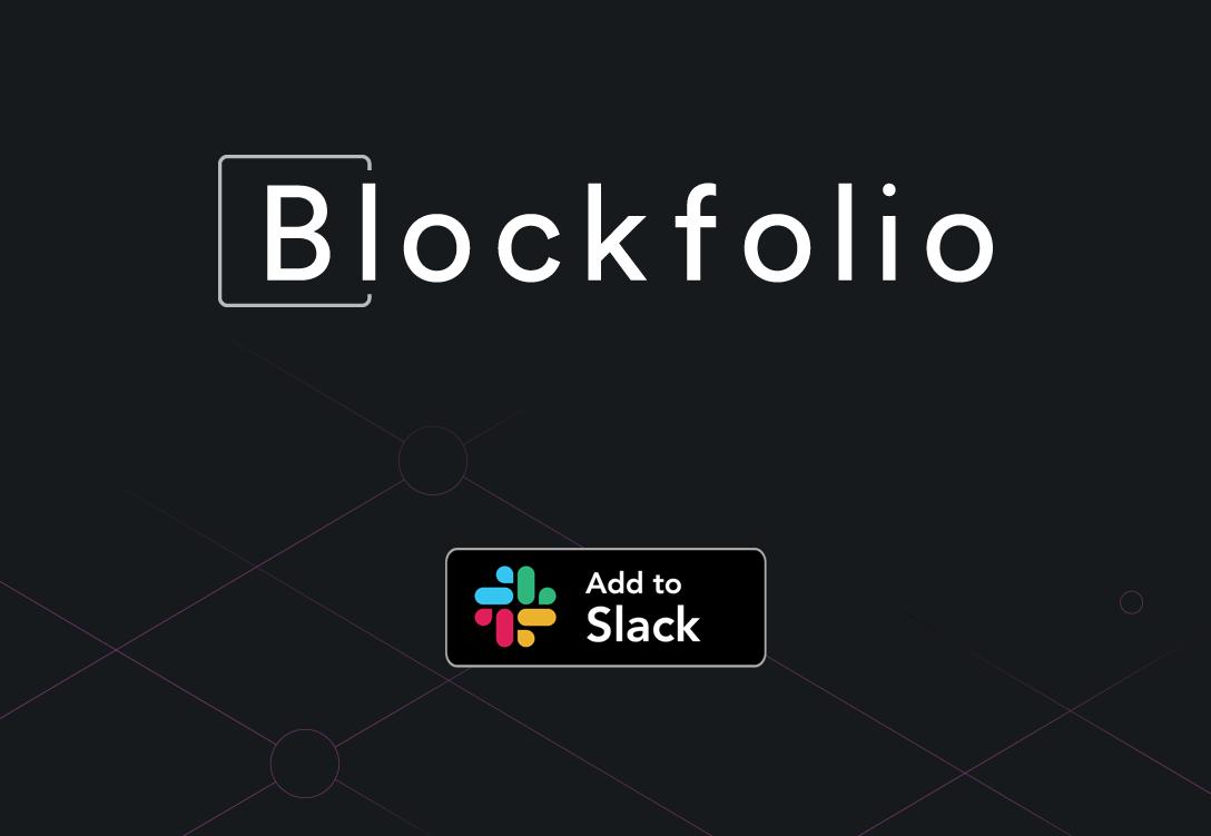 Blockfolio Anuncia Su Último Desarrollo, La Aplicación Blockfolio Slack