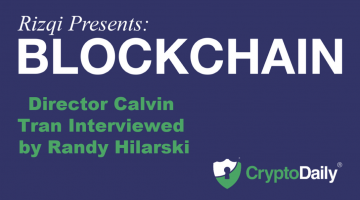 《里兹呈现: 区块链Rizqi Presents: Blockchain》導演Calvin Tran接受Randy Hilarski采访