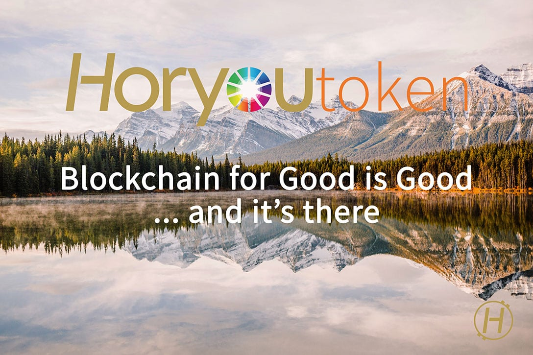 Blockchain For Good Is Good ...And It's There