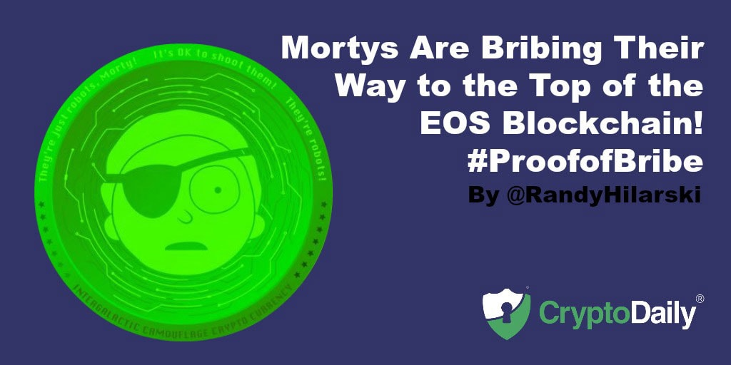 Mortys Are Bribing Their Way To The Top Of The EOS Blockchain
