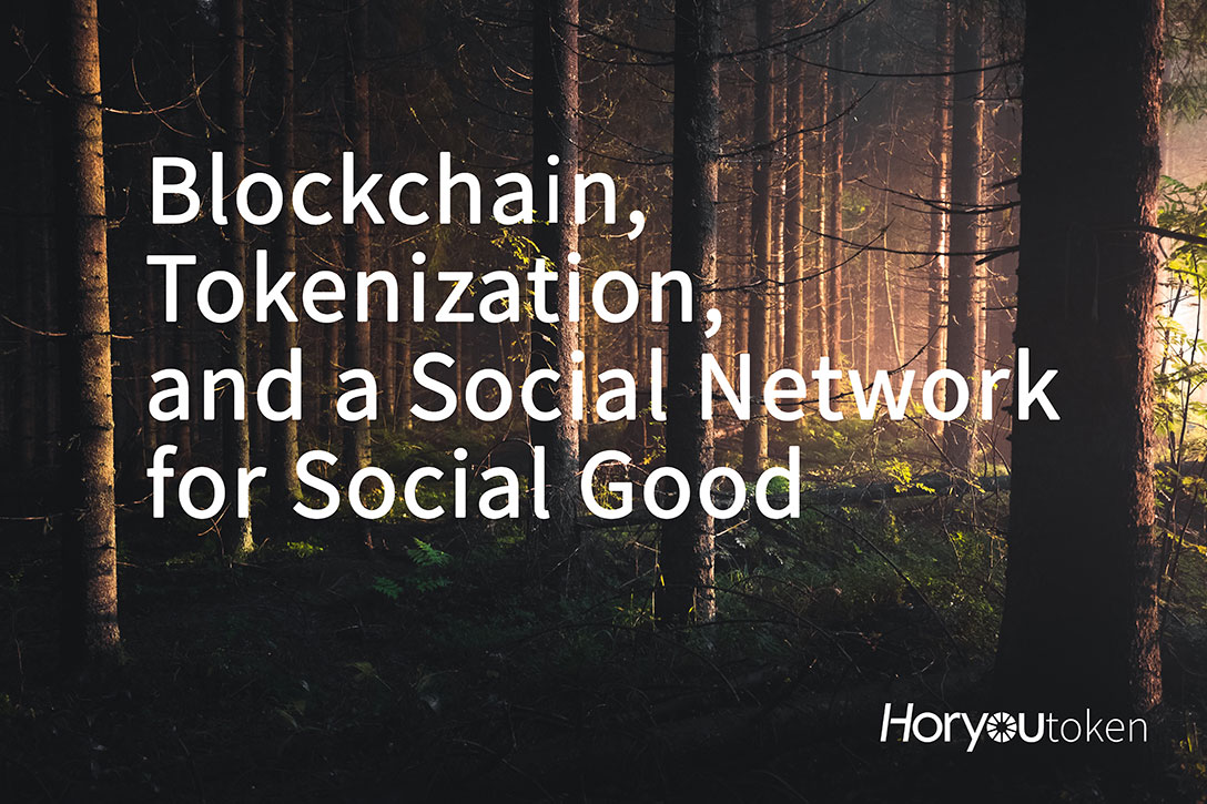 Blockchain, Tokenization, And A Social Network For Social Good