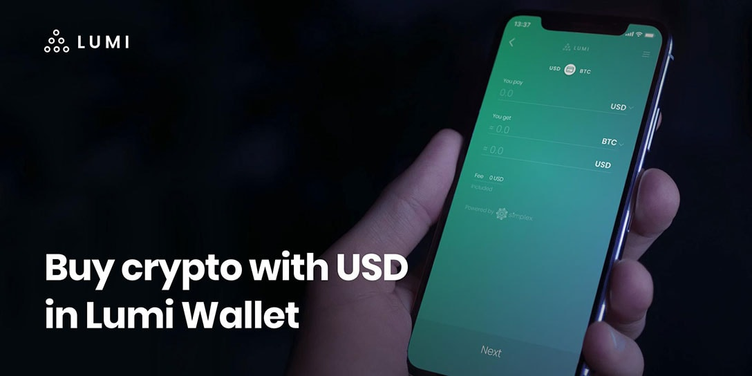 Buy Bitcoin With Credit Card Easily In Lumi Wallet